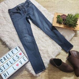 American Eagle Super Skinny Jeans Size 2 Dark Wash